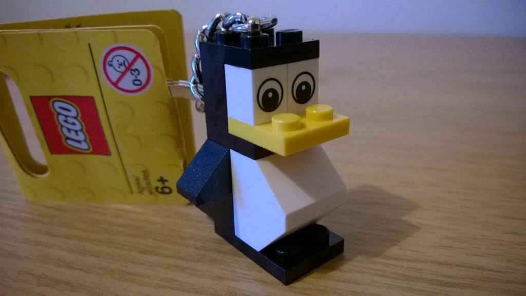 LEGO Penguin Keyring