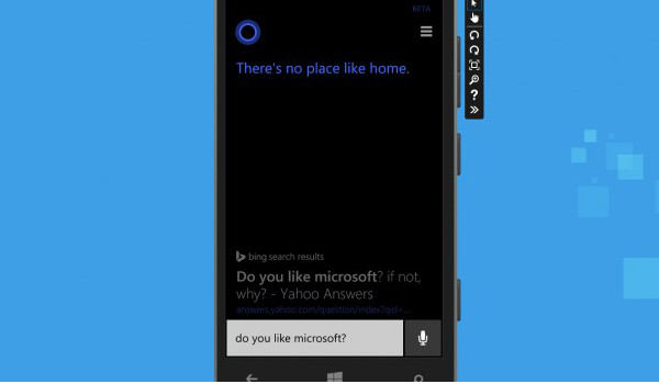Cortana - Do you like Microsoft?
